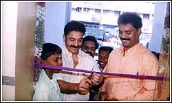 Shop Inaguration by Kamal